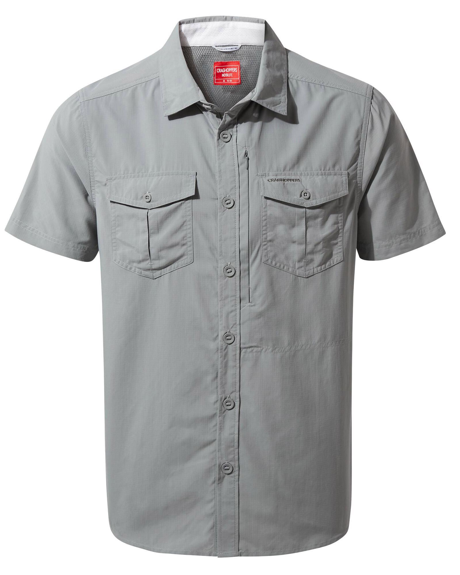 Craghoppers Men's NosiLife Short Sleeve Adventure Shirt 0
