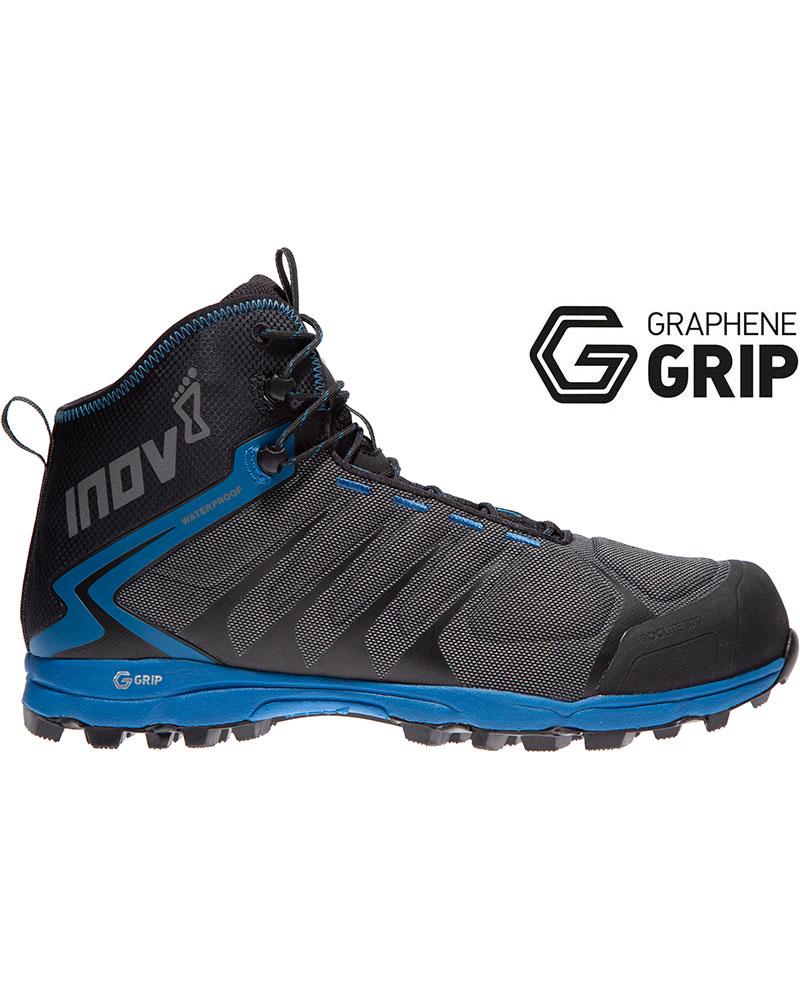 Inov-8 Men's Roclite Hike 370 Graphene Grip Mid Waterproof Walking Boots 0