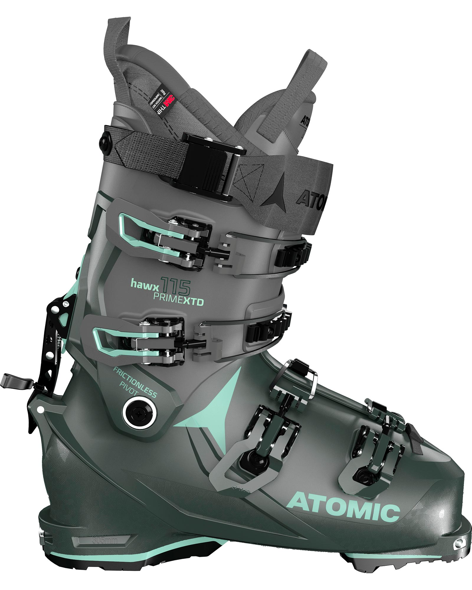 Atomic Women's Hawx Prime XTD 115 W Tech GW Backcountry Ski Boots 2021 0