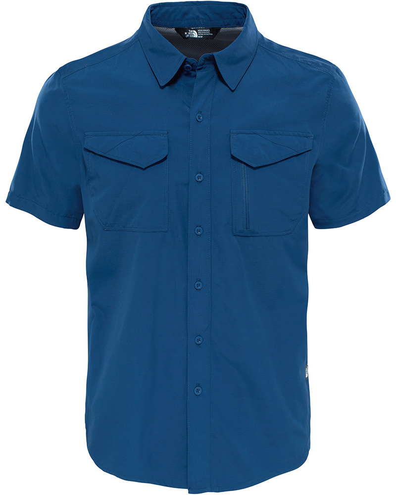The North Face Men's S/S Sequoia Shirt Shady Blue 0