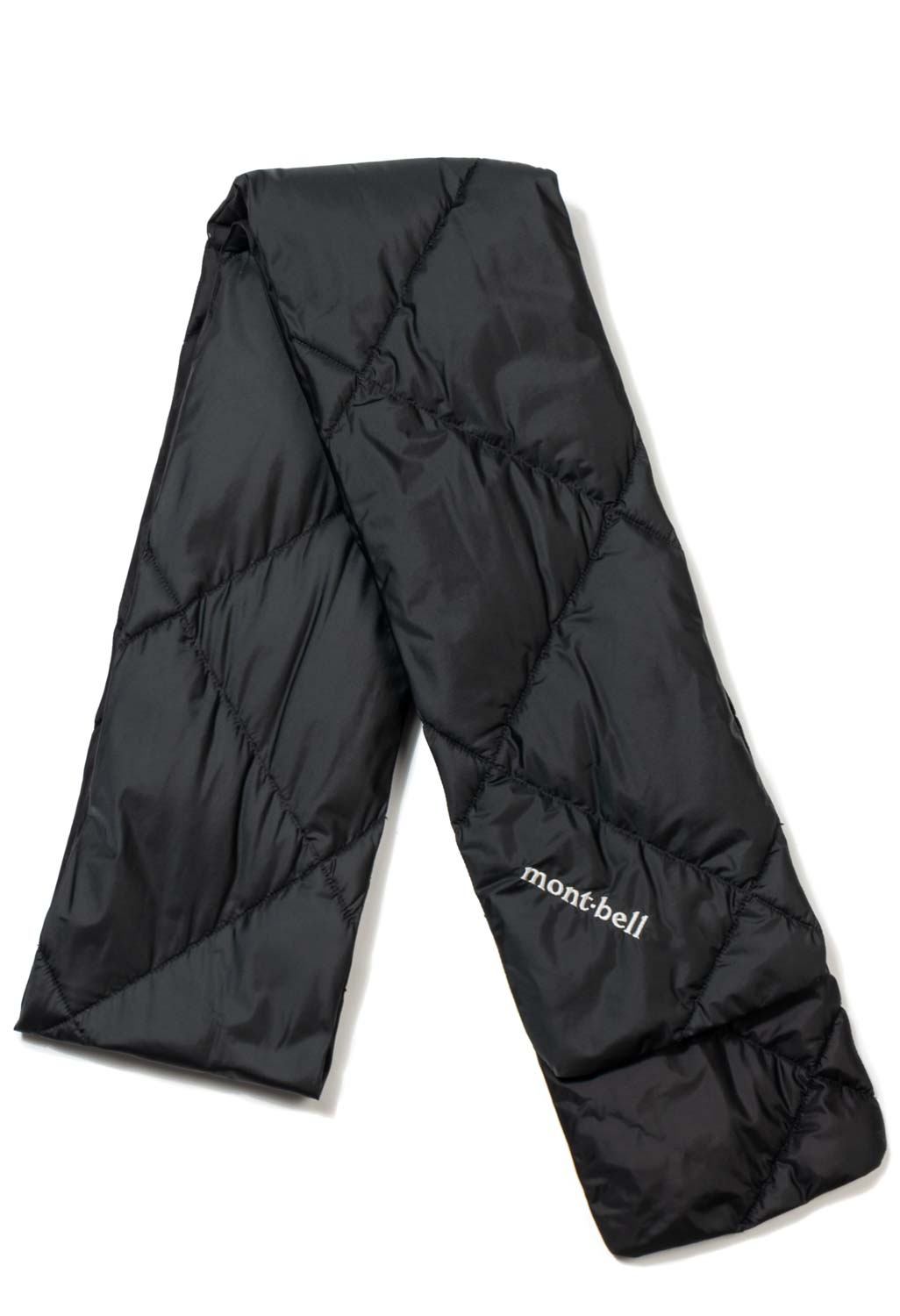 puffer / down scarf from Montbell