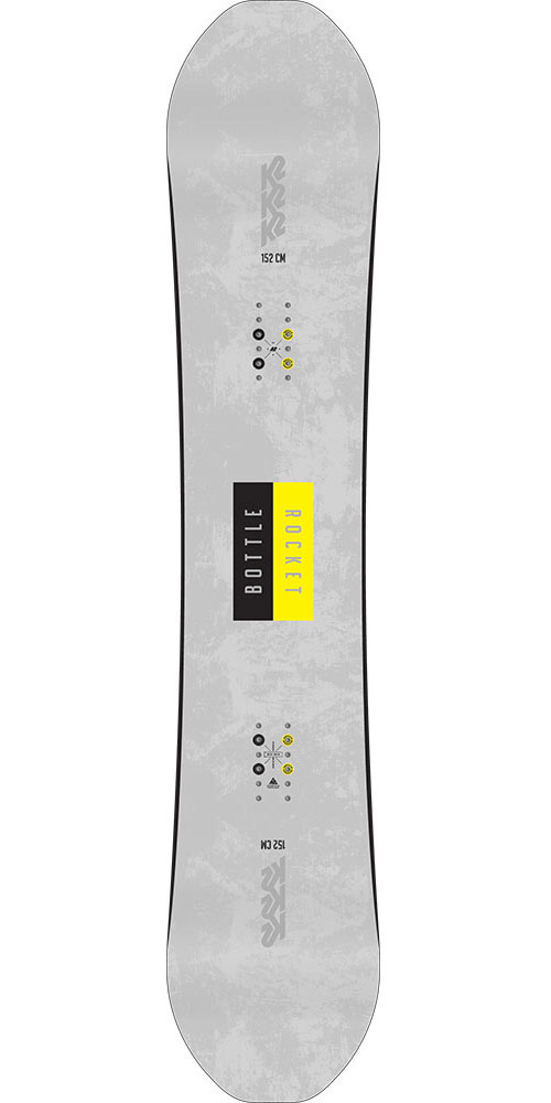 K2 Snowboarding Men's Bottle Rocket Snowboard 2018 / 2019 No Colour 0