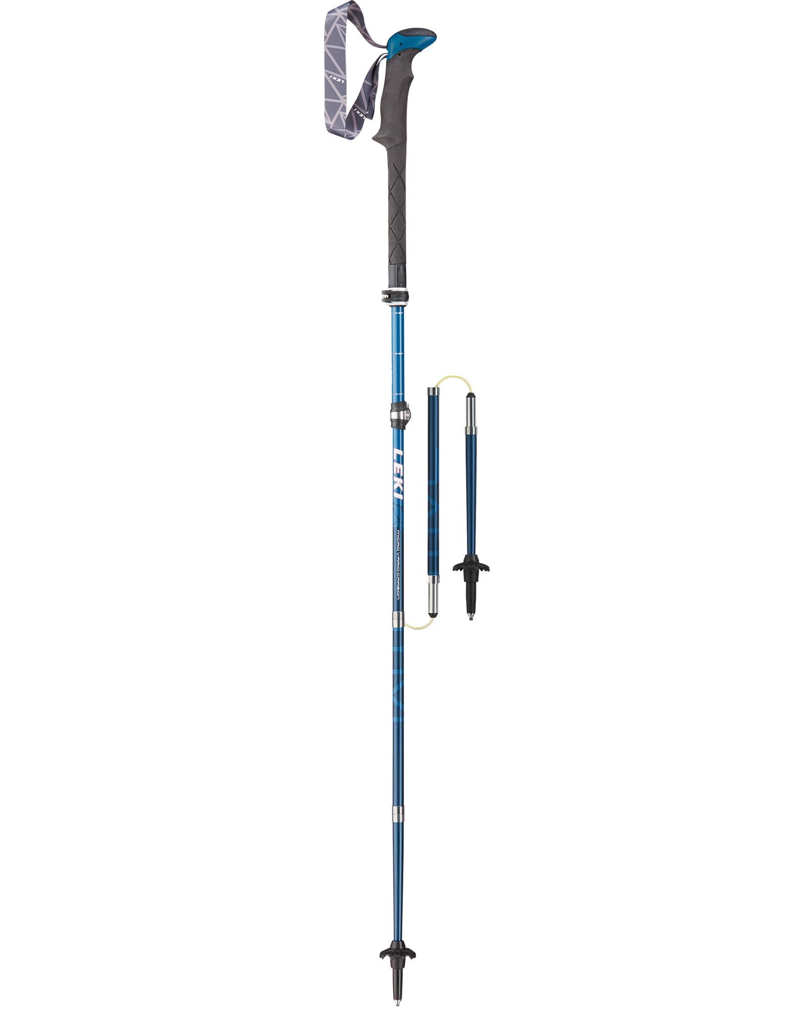 Leki Micro Vario Carbon Poles (Pair) 0