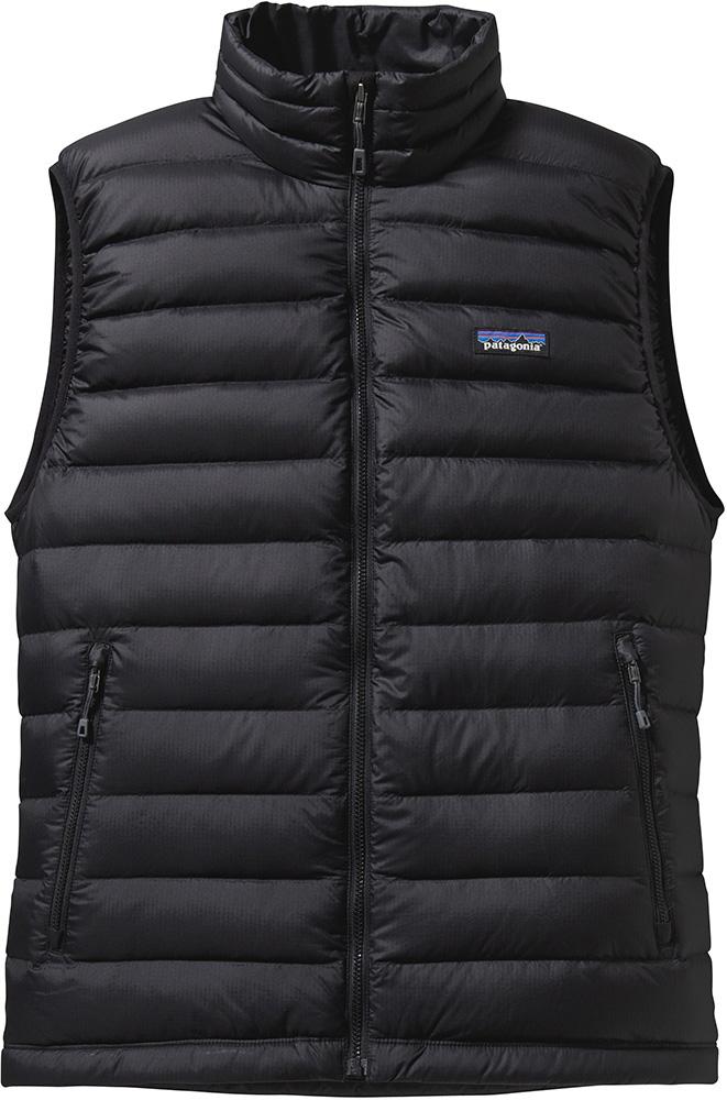 Patagonia Men's Down Sweater Vest Black 0