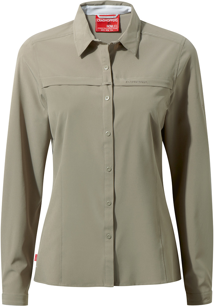Craghoppers Womens Nosilife Pro L/s Shirt