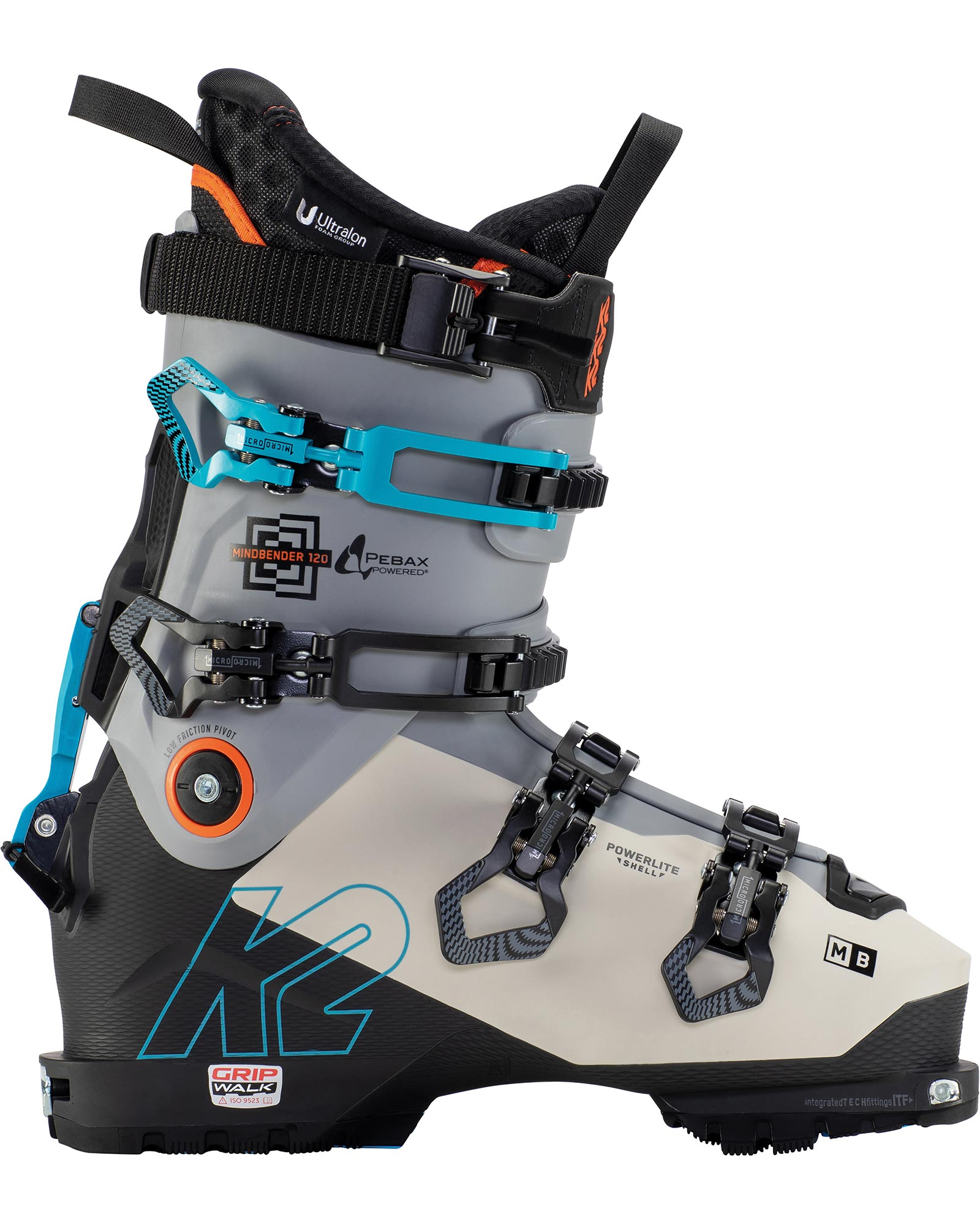 K2 Men's Mindbender 120 Backcountry Ski Boots 2021 0