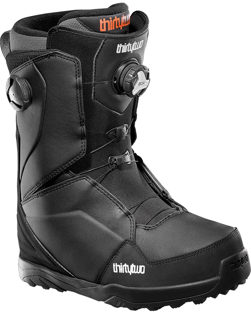 ThirtyTwo Men's Lashed Double Boa Snowboard Boots 2019 / 2020 Black 0