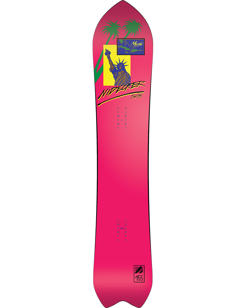Nidecker Men's Liberty Snowboard 2019 / 2020 No Colour 0