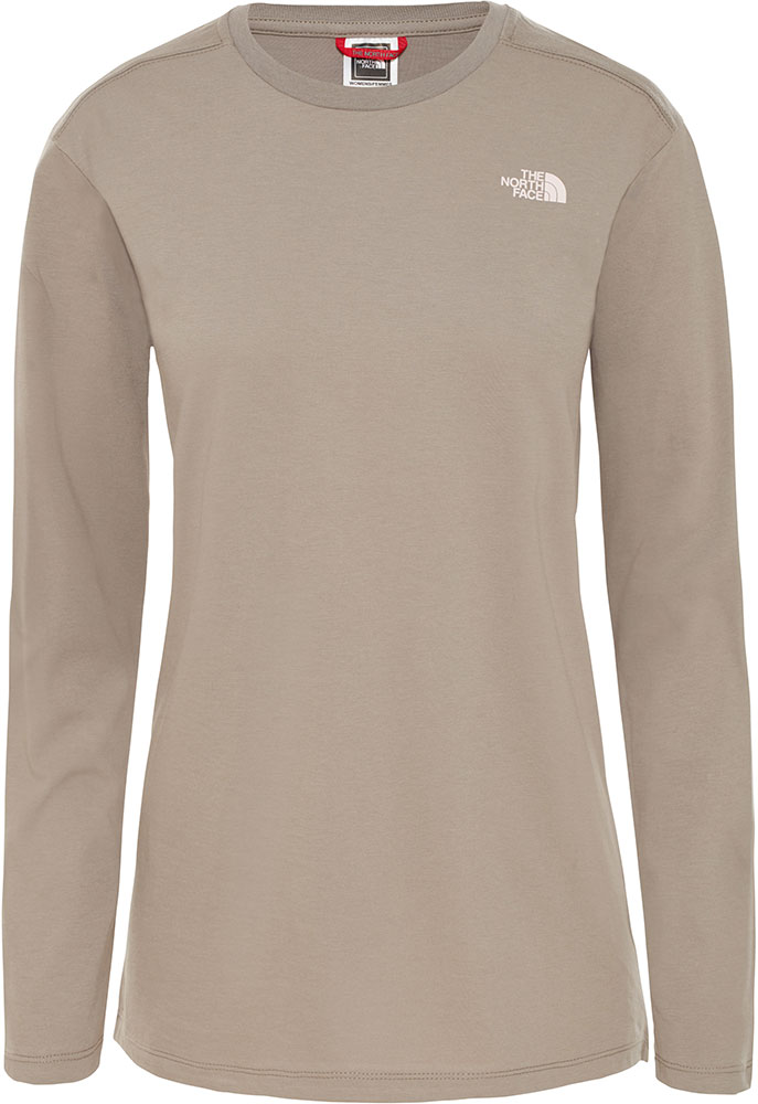 The North Face Women's L/S Simple Dome T-Shirt 0