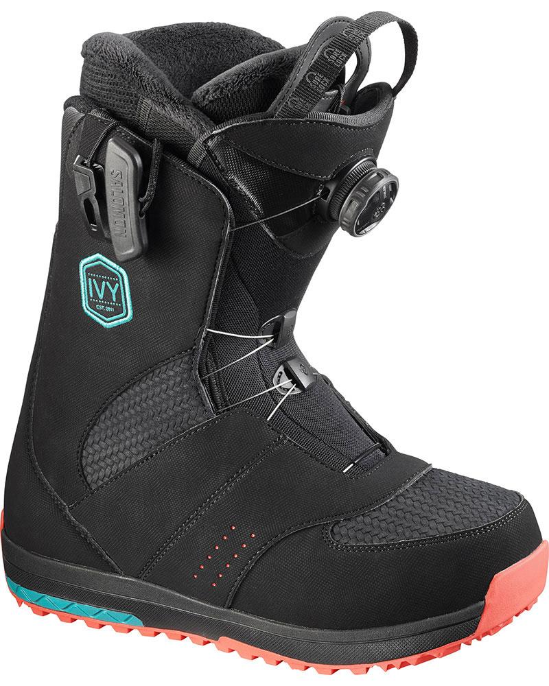 Salomon Women's Ivy Boa Str8Jkt Snowboard Boots 2016 / 2017 0