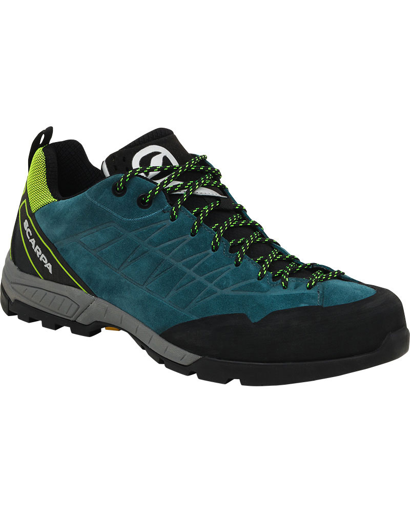 Scarpa Men's Epic Approach Shoes Lake Blue/Lime 0