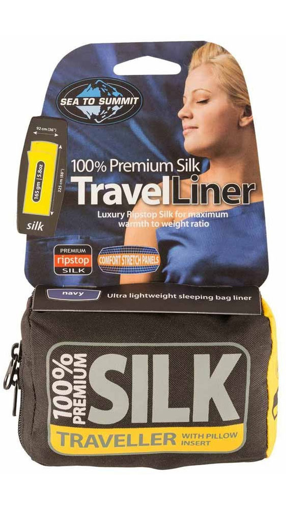 Sea To Summit Silk Traveller Liner - comfort stretch panels 0