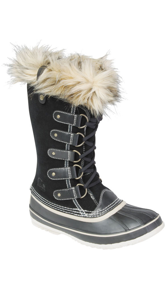 Sorel Women's Joan of Arctic Snow Boots Black 0