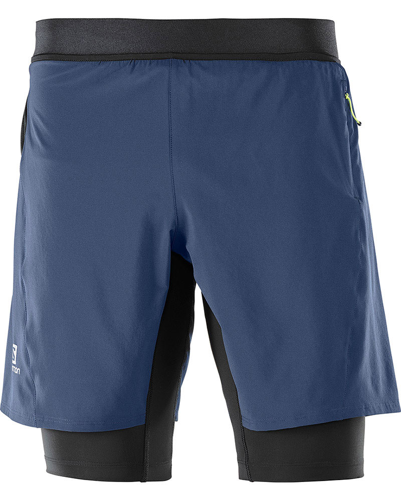 Salomon Men's Fast Wing Twinskin AdvancedSkin Shorts 0