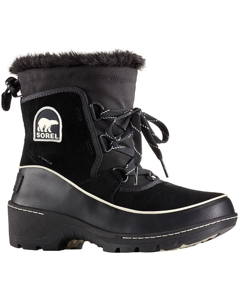 Sorel Women's Torino Snow Boots Black/Light Bisque 0
