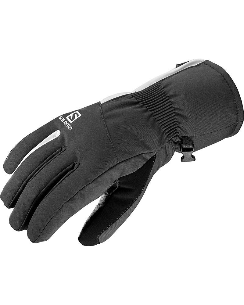 Salomon Women's Propeller Dry Ski Gloves Black/White 0