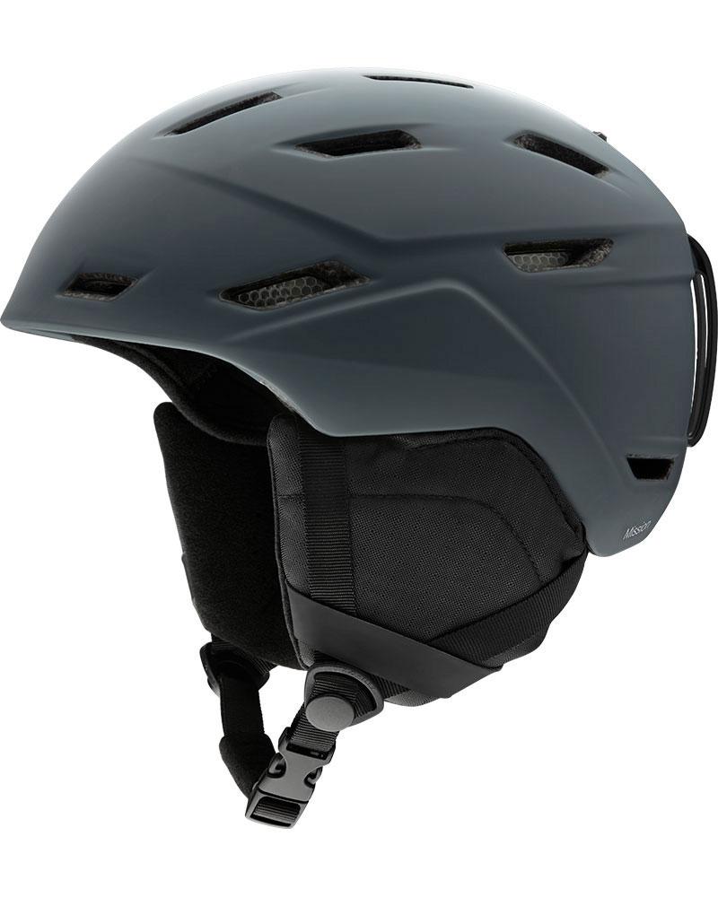 Smith Mission Snowsports Helmet 2019 / 2020 Matte Charcoal 0