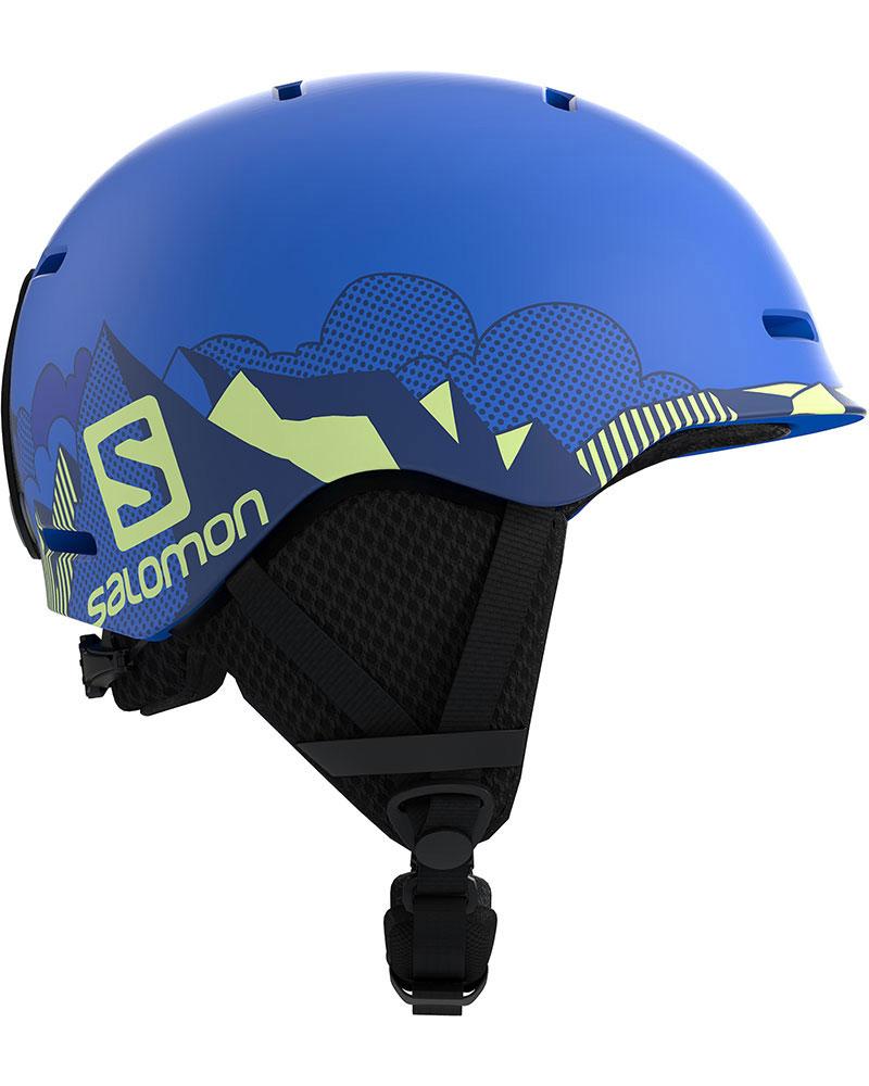 Salomon Boy's Grom Snowsports Helmet 2019 / 2020 Pop Blue Matt 0