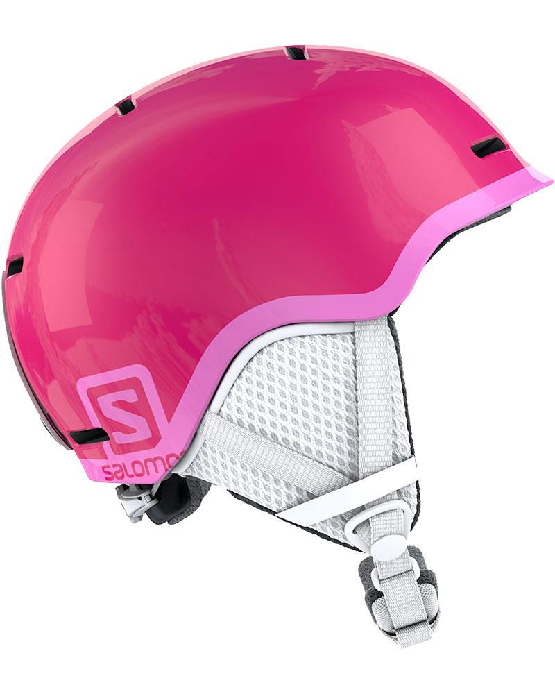 Salomon Girl's Grom Snowsports Helmet 2019 / 2020 Glossy/Pink 0