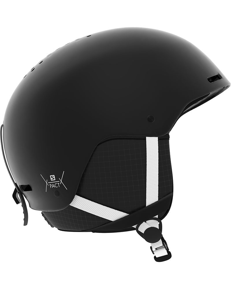 Salomon Boy's Pact Snowsports Helmet 2019 / 2020 Black/White 0