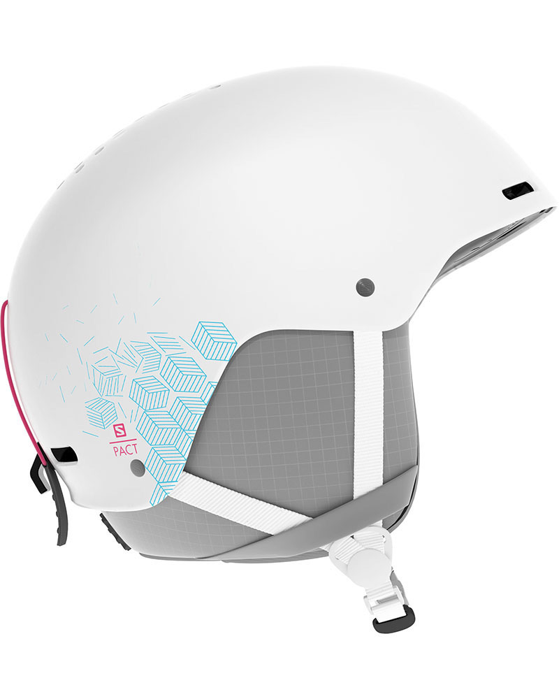 Salomon Girl's Pact Snowsports Helmet 2019 / 2020 White 0