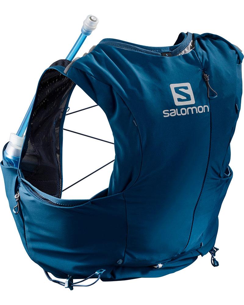 Salomon Women's Advanced Skin 8 Set Running Vest Poseidon/Night Sky 0