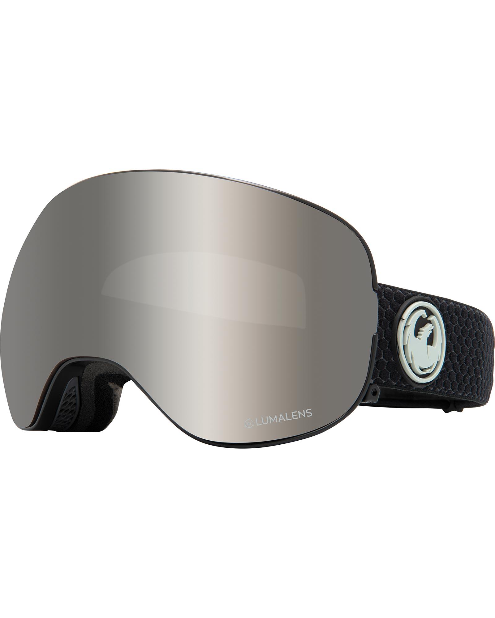 Dragon X2 Split / Lumalens Silver Ionized + Lumalens Flash Blue Goggles 0