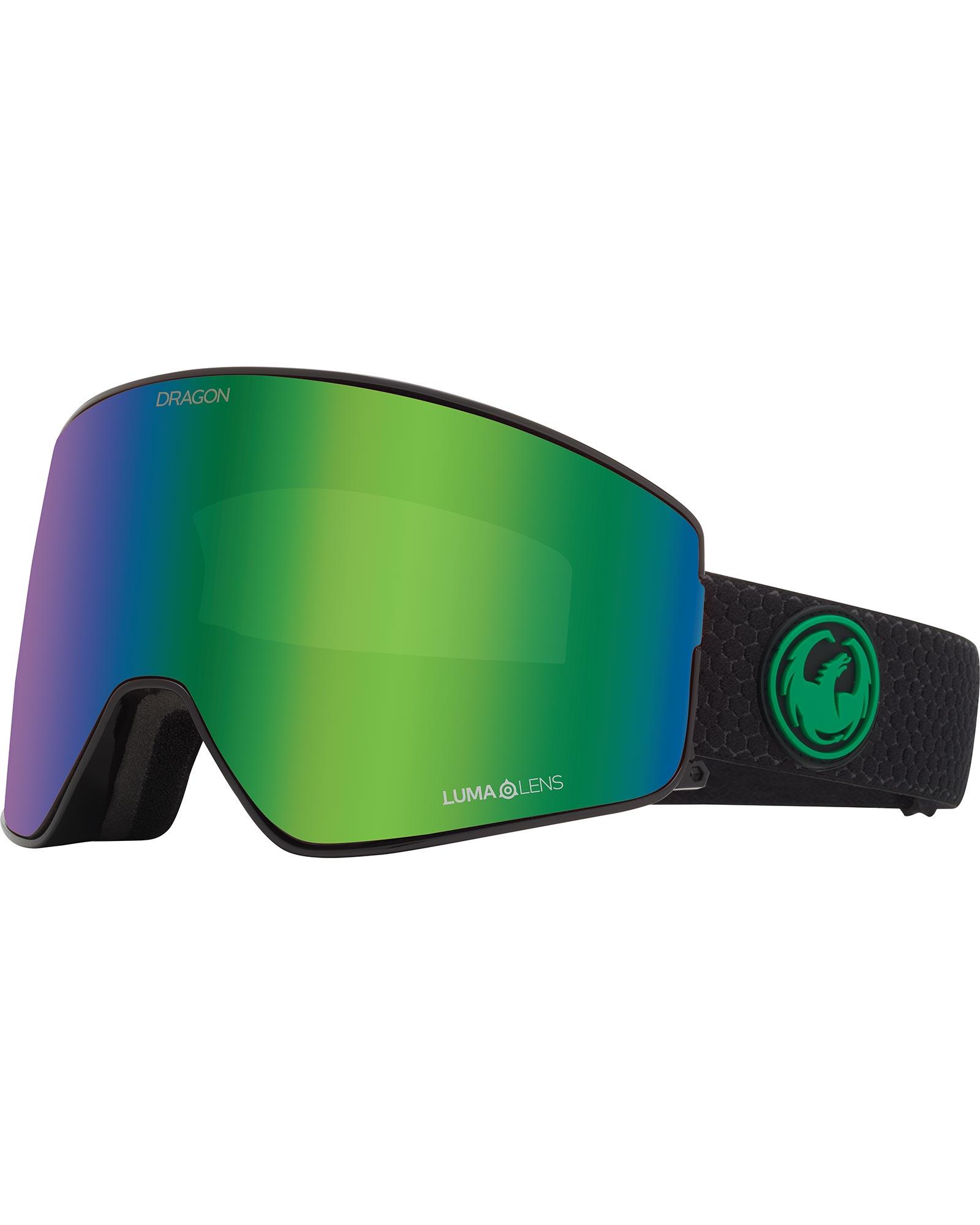 Dragon PXV2 Split / Lumalens Green Ionized + Lumalens Amber Goggles 2019 / 2020 0
