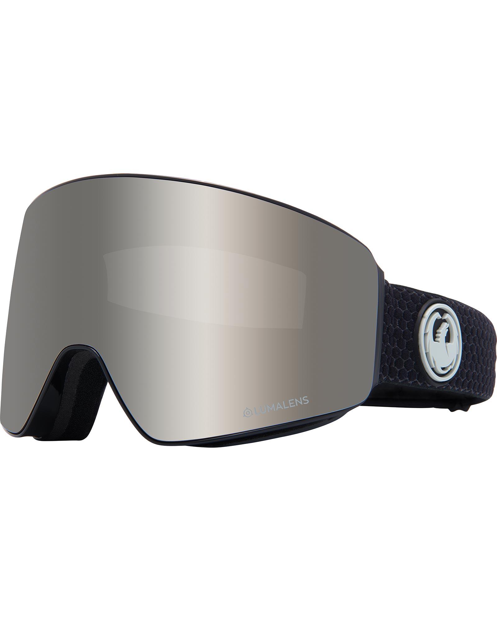 Dragon PXV Split / Lumalens Silver Ionized + Lumalens Flash Blue Goggles 0