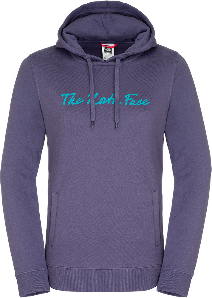 The North Face Women's Open Gate Fleece Hoodie Greystone Blue 0