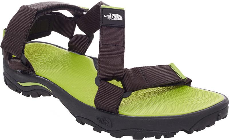 The North Face Men's Litewave Sandal TNF Black/Macaw Green 0
