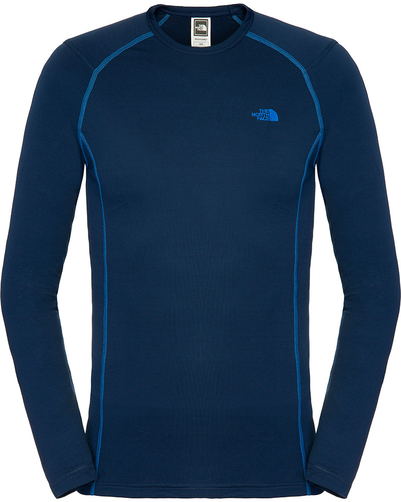 The North Face Men's Warm L/S Crew Neck Base Layer Cosmic Blue 0