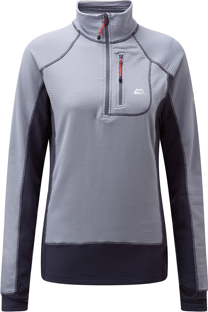 Mountain Equipment Women's Eclipse Zip T-Shirt Horizon 0