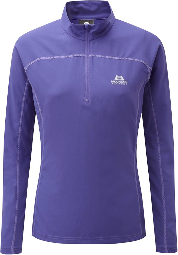 Mountain Equipment Women's Modus Zip T-Shirt Thistle 0