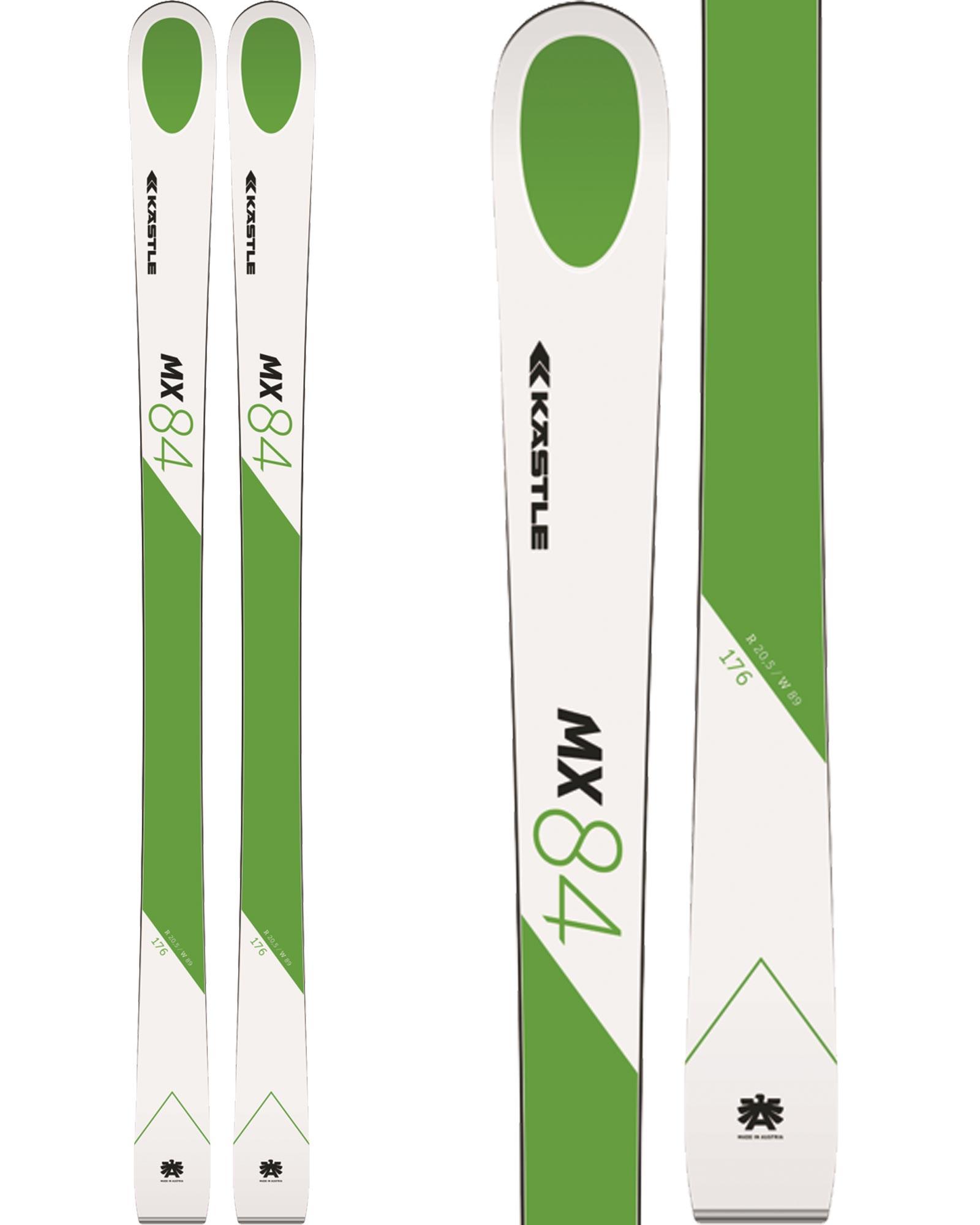 Kastle Men's MX84 All Mountain Skis 2019 / 2020 0