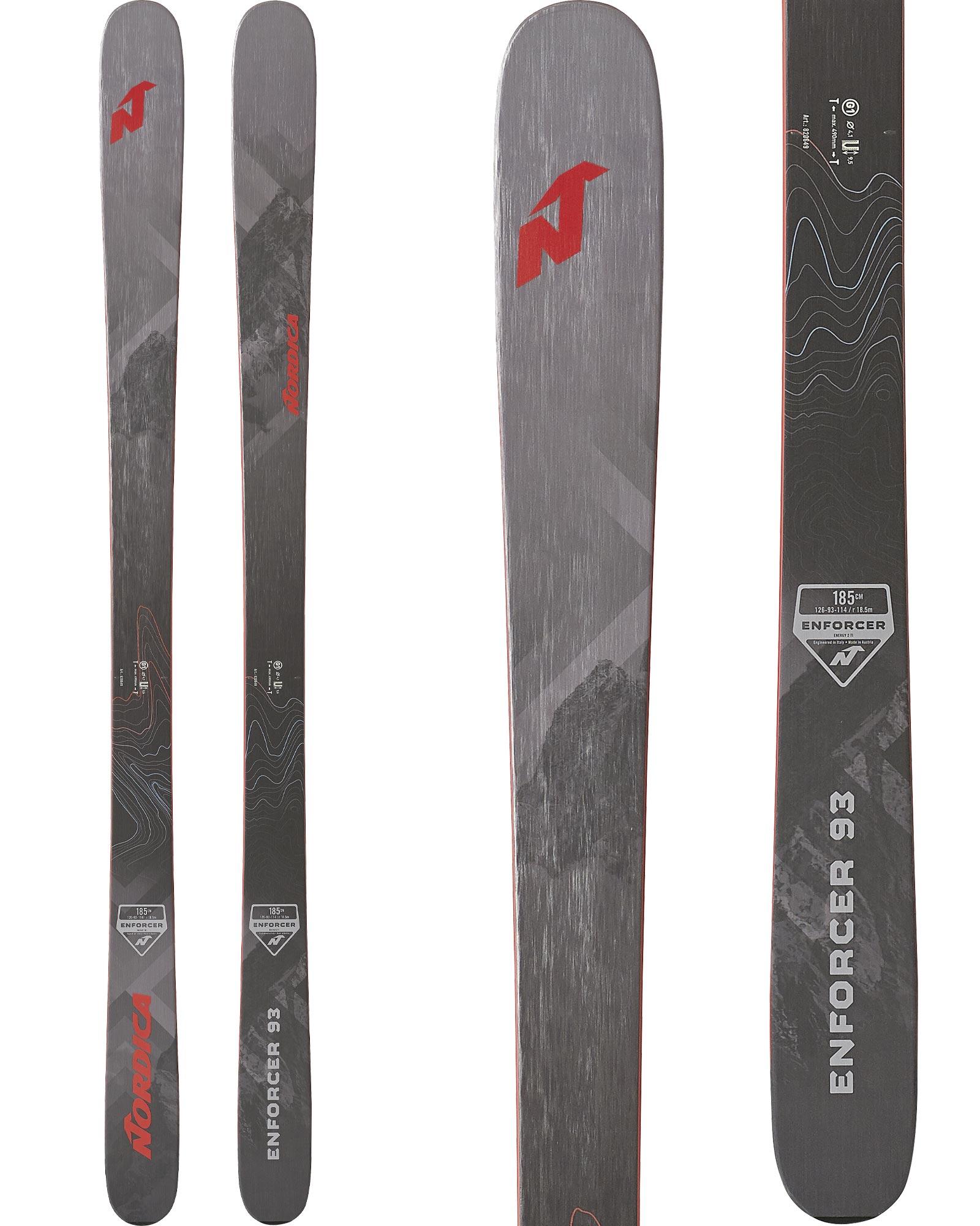 Nordica Men's Enforcer 93 Freeride Skis 2019 / 2020 0
