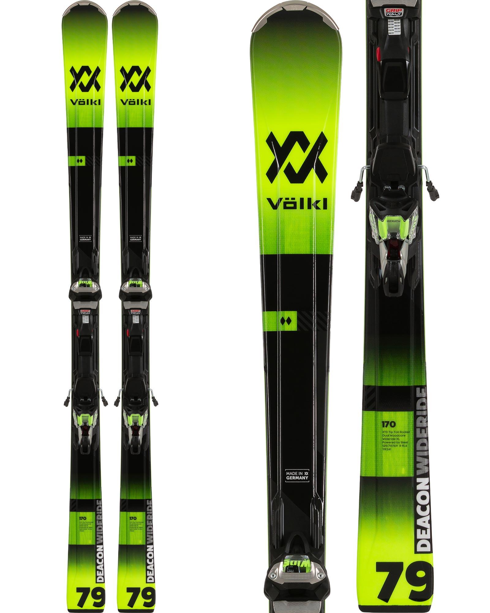 Volkl Men's Deacon 79 Piste Skis + iPT WR XL 12 TCX GW Bindings 2019 / 2020 0