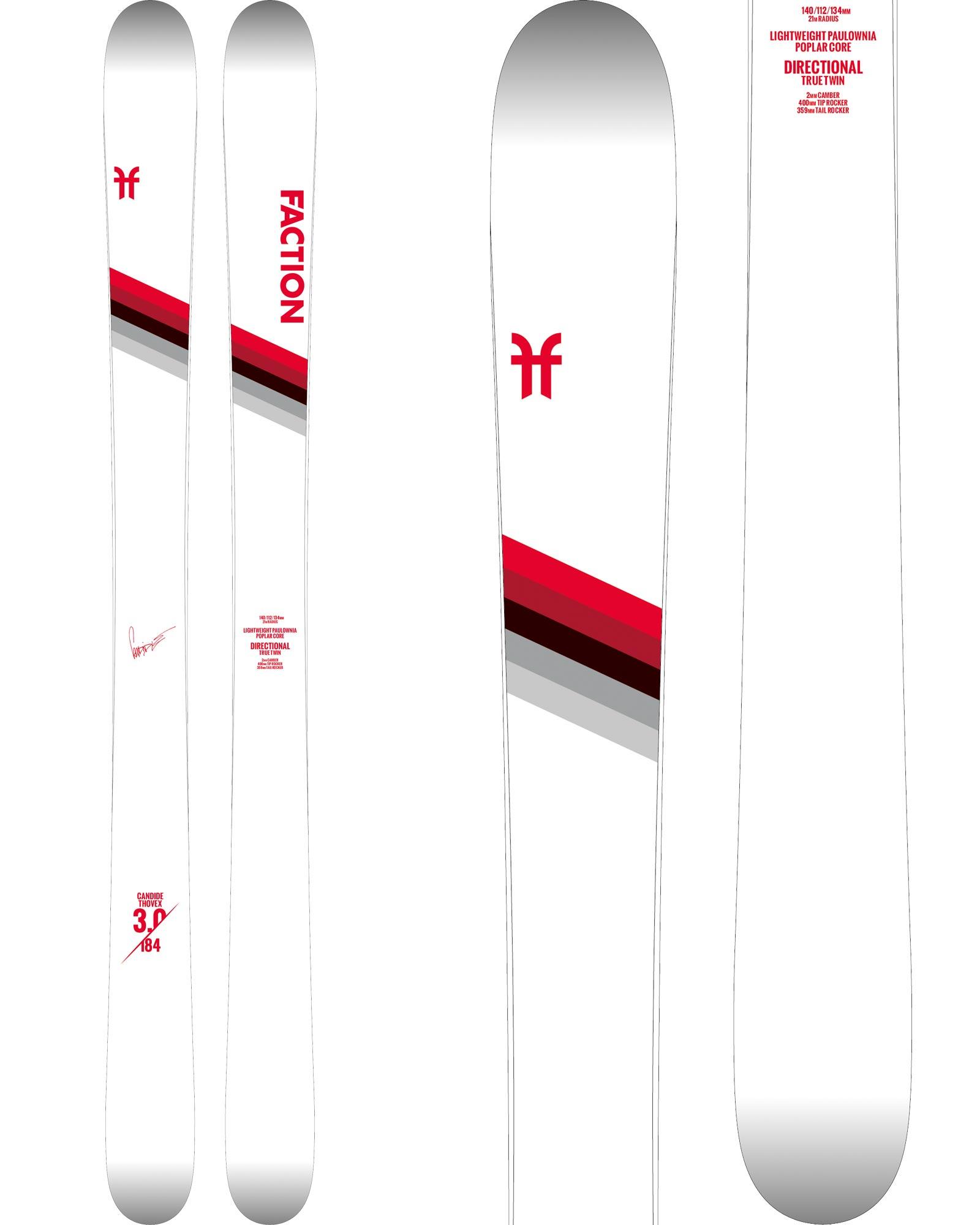 Faction Men's CT 3.0 Freestyle Skis 2019 / 2020 0