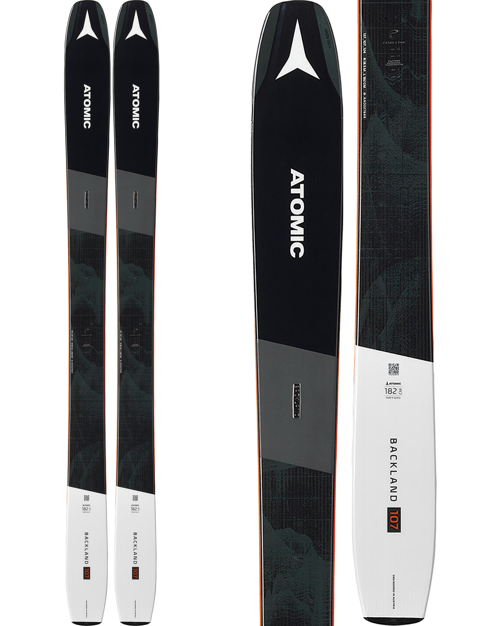 Atomic Backland 107 Backcountry Skis 2019 / 2020 0