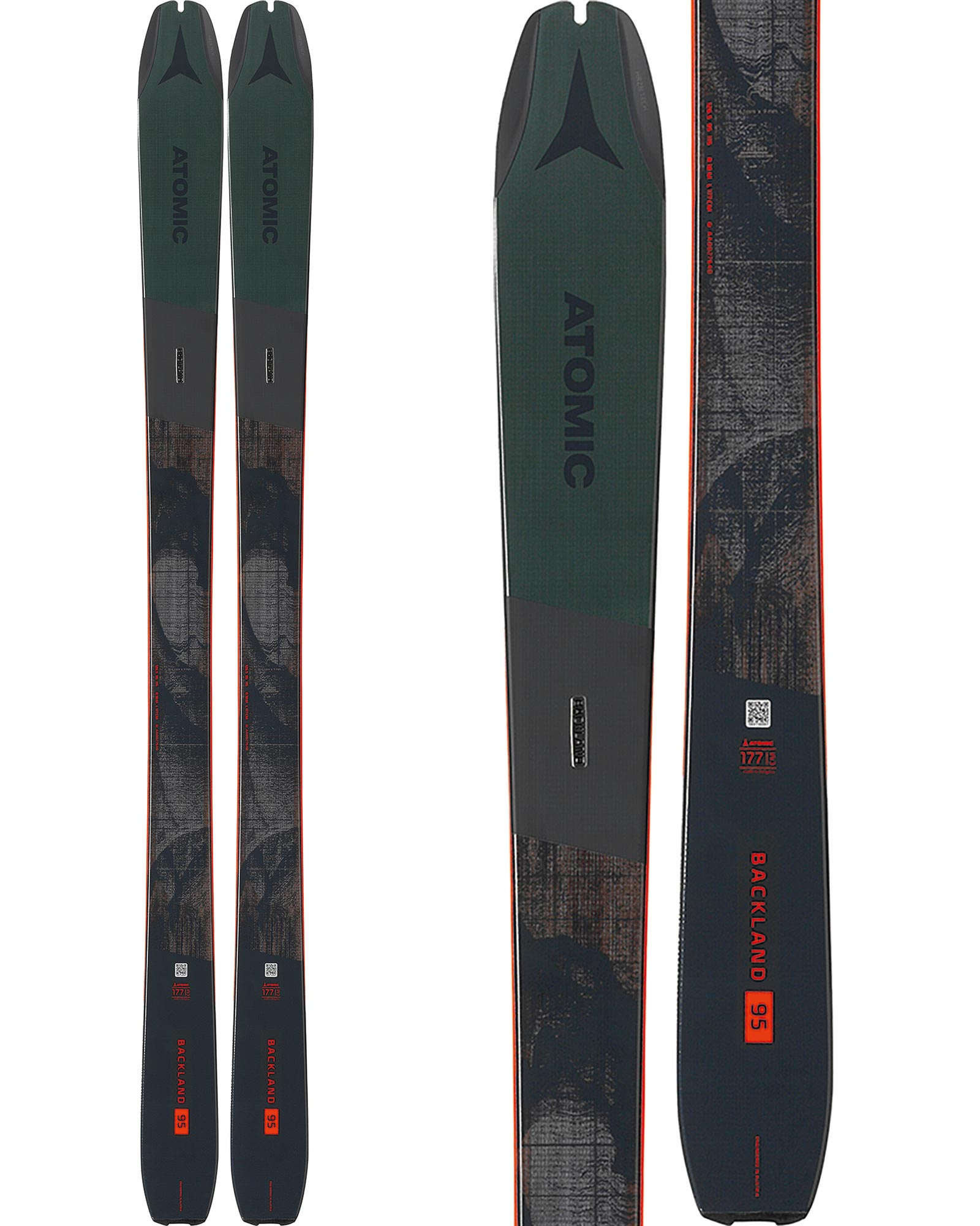 Atomic Backland 95 Backcountry Skis 2020 / 2021 0