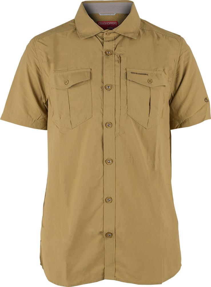 Craghoppers Men's NosiLife S/S Adventure Shirt Light Olive 0