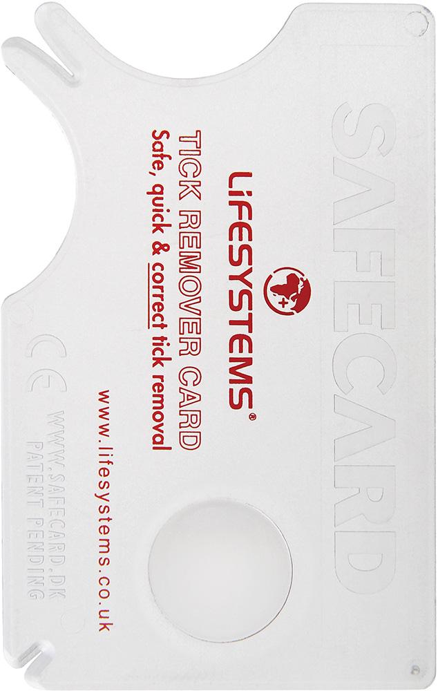 Lifesystems Tick Remover Card No Colour 0