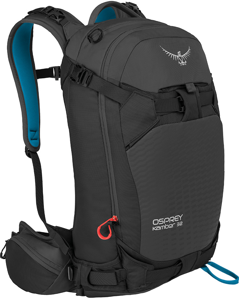 Osprey Men's Kamber 32 Ski Backpack Galactic Black 0