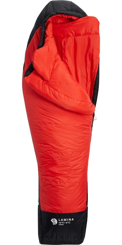 Mountain Hardwear Lamina Women's 15°F / -9°C Sleeping Bag Poppy Red 0