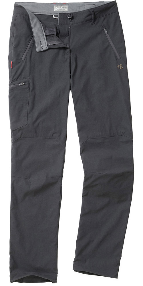 Craghoppers Women's NosiLife Pro Trousers Charcoal 0