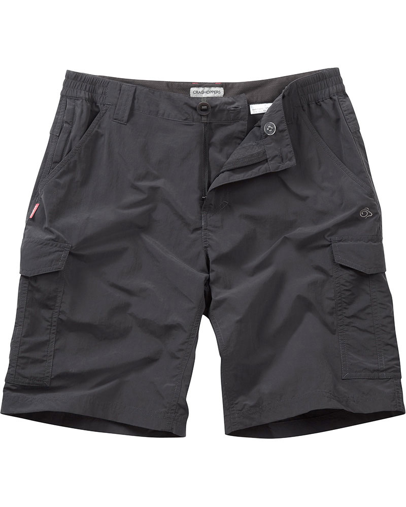 Craghoppers Men's NosiLife Cargo Shorts Black Pepper 0