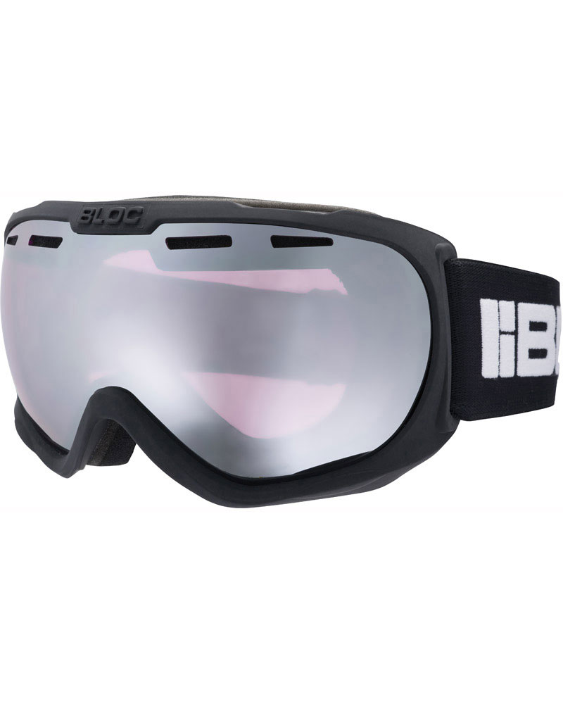 Bloc Boa Matte Black / Light Purple Mirror Silver Goggles 2019 / 2020 0