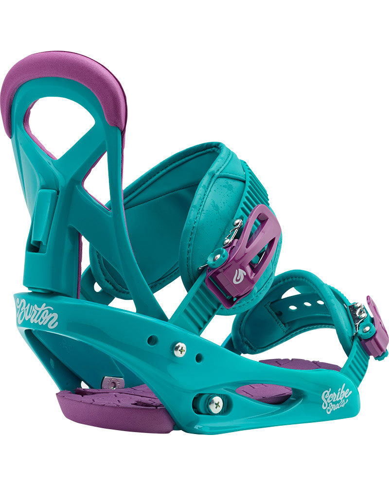 Burton Kids' Scribe Small Snowboard Bindings 2017 / 2018 0