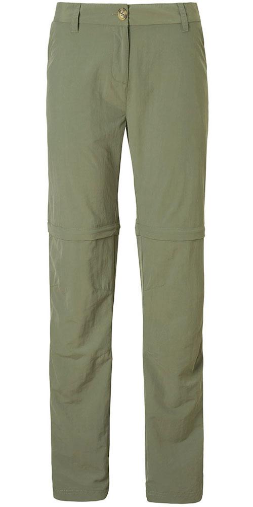 Craghoppers Women's NosiLife 2 Convertible Pants Short Leg Soft Moss 0