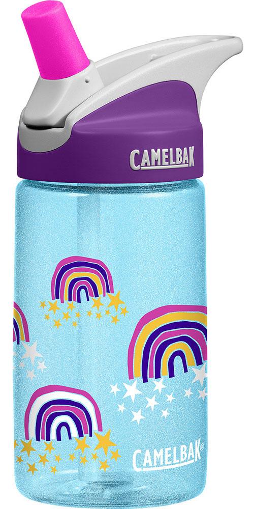 CamelBak Eddy Kids' 400ml Water Bottle Glitter Rainbows 0
